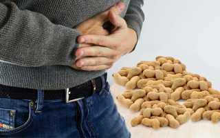 Арахис при панкреатите